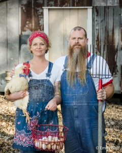 Nicole and Mark Lewis of Lewis Acres